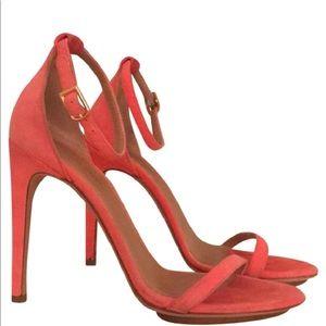 Calvin Klein Collection Suede Strappy High Sandals